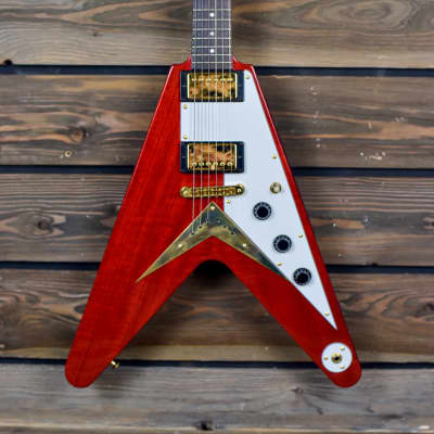 Hamer Korina Vector built for Bill Kaman, 1 of 2 in this color for sale