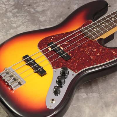 Fender Custom Shop Team Built 1964 Jazz Bass/N.O.S. 3-Color Sunburst - Shipping Included* for sale