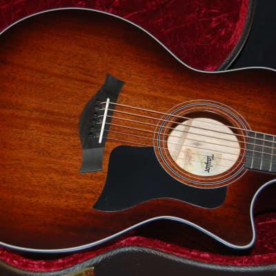 MINT! Taylor 324ce Shaded Edgeburst Tasmanian Blackwood Back - Sides V-class Authorized Dealer SAVE! for sale