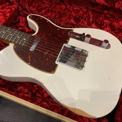 Fender '63 Relic Custom Shop Telecaster 2019 White for sale