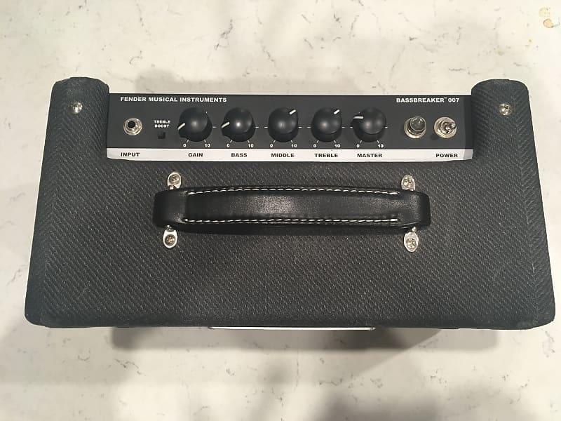 fender bassbreaker 007 guitar amp head reverb. Black Bedroom Furniture Sets. Home Design Ideas