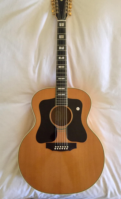 left handed guild solid maple body 12 string acoustic guitar reverb. Black Bedroom Furniture Sets. Home Design Ideas