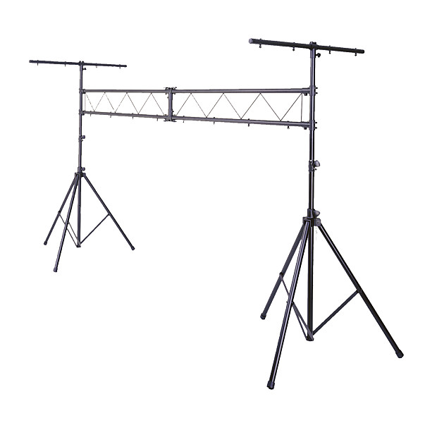 10FT Mobile DJ Lighting Truss Stand Trussing Stage Light I Beam System W T Bar