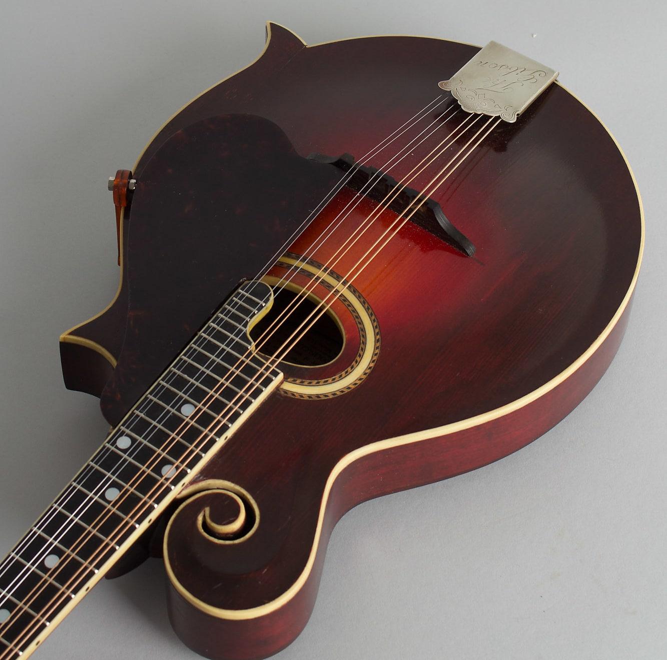 Gibson  F-2 Carved Top Mandolin (1920), ser. #61196, black tolex hard shell case.
