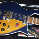 MINT! Rickenbacker 660/12 Midnight 12-String Solid Body Electric Guitar OHSC Unplayed SAVE!
