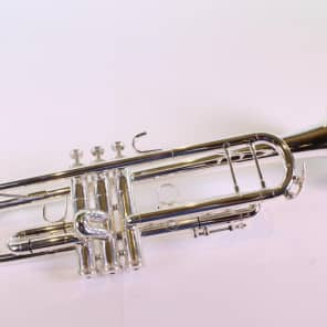 King 2055S Silver Flair Step-Up Model Bb Trumpet