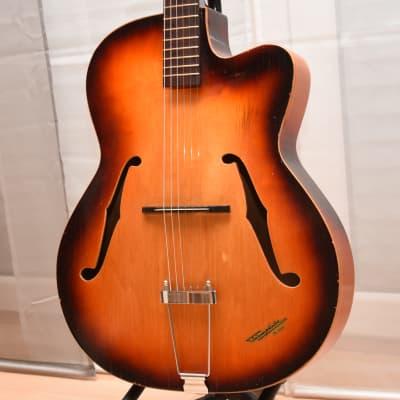 Klira Triumphator – 1960s German Vintage Archtop Jazz Guitar / Gitarre for sale