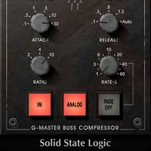 Waves SSL G-Master Buss Compressor Plugin