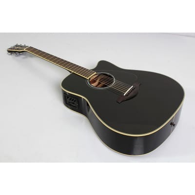 Yamaha FGX830C Folk Acoustic-Electric Guitar Regular Black
