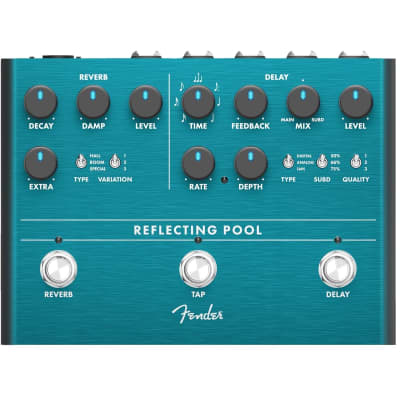 Fender Reflecting Pool Delay Reverb effects pedal for sale