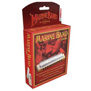 Hohner 1896BX-FSHRP Marine Band 1896 Classic Harmonica - Key of F#