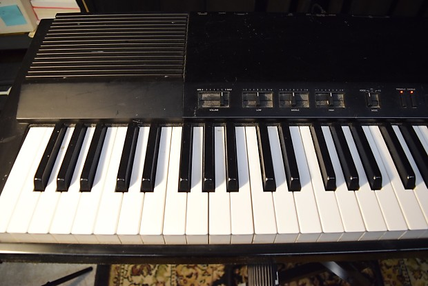 yamaha pf70 electric piano w stand w case vintage 80 39 s reverb. Black Bedroom Furniture Sets. Home Design Ideas