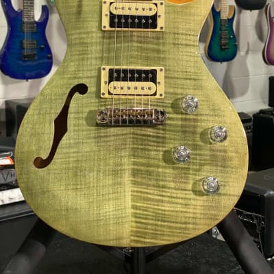 Paul Reed Smith SE Zach Myers Signature Trampas Green w/ Gig-Bag + Free Ship (51)
