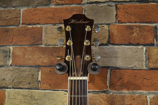 hohner ea65ceq grand auditorium acoustic electric guitar with reverb. Black Bedroom Furniture Sets. Home Design Ideas