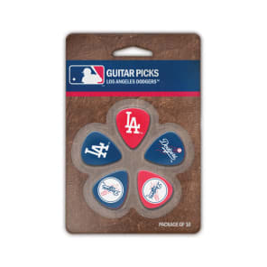 Woodrow Los Angeles Dodgers Guitar Picks (10)