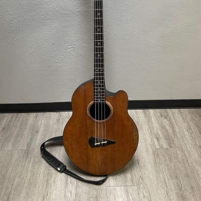 TS  spider acoustic bass for stanley clarke with case natural for sale