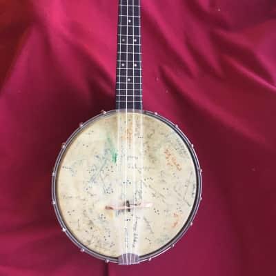 Vintage Slingerland Maybell Banjo Ukulele, Model #24 VGC w/case for sale