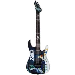 ESP LTD KH-WZ White Zombie Kirk Hammett Signature