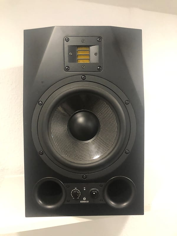 adam audio a8x active nearfield monitors pair black reverb. Black Bedroom Furniture Sets. Home Design Ideas