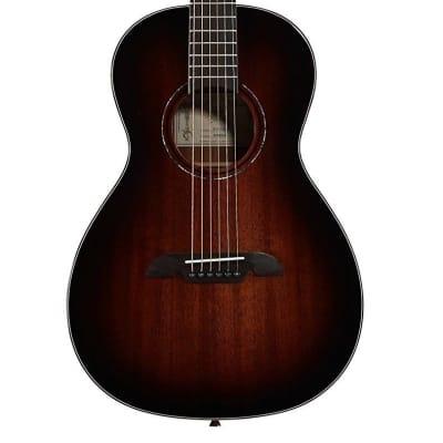 Alvarez Model AP66SHB Solid Top Acoustic Parlor Size Shadowburst Guitar for sale