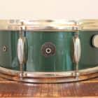 Gretsch 5.5x14 Cadillac Green Nitron/24K Gold Hardware. Birdland Model. 3-Ply / 8-Lug. 1950's image
