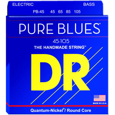 DR Strings PB-45 45-105 4str Pure Blues Bass Strings