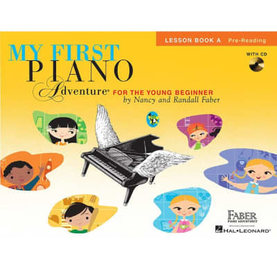 My First Piano Adventure for the Young Beginner - Lesson Book A: Pre-Reading