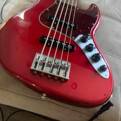 Fender Jazz Bass V 5-String 2015 Chrome Red