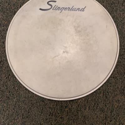 """Slingerland (1960's) 22"""" Drum Head 1960's White/Standard"""