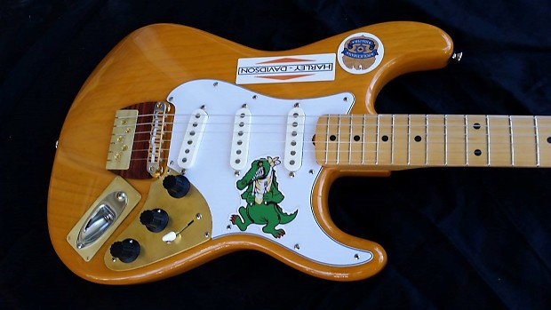 Garcia Style Alligator Stratocaster Made By Rusch Guitars Reverb