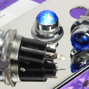 Blue Jewel 6.3V Tube Amp Pilot Light Assembly For Guitar Amps BARGAIN With #47 6.3V Bulb