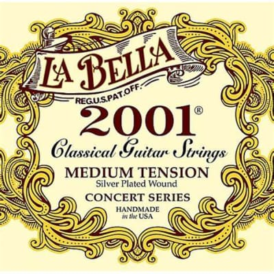 La Bella LaBella 2001 Medium Tension Classical Guitar Strings for sale