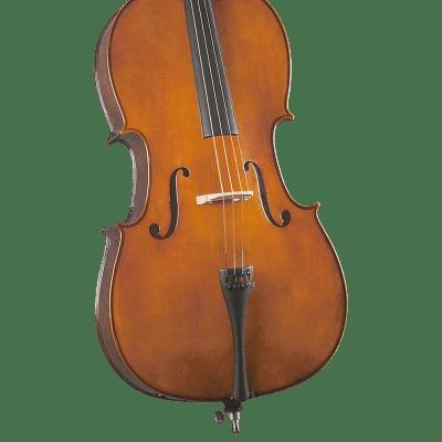 Cremona SC-130 Premier Novice Cello Outfit - 7/8 Size for sale