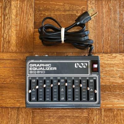 Vintage 1982 DOD Grey Box EQ 610 Graphic Equalizer *Works Great* for sale