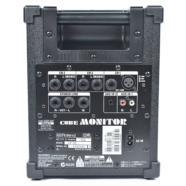 roland cm 30 cube monitor 30w chicago music exchange reverb. Black Bedroom Furniture Sets. Home Design Ideas