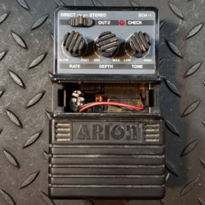 Arion SCH-1 Stereo Chorus 1980's missing battery cover FREE SHIPPING for sale