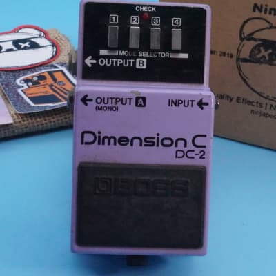 Boss DC-2 Dimension C   Rare (Made in Japan) 1985 Blue Label   Fast Shipping!