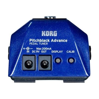 Korg Pitchblack Pb Ad Bl Tuner for sale