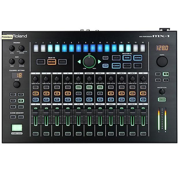 Roland Intros Aira Mx 1 Mix Performer The Nerve Center: Roland AIRA MX-1 Mix Performer
