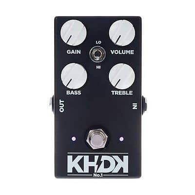 KHDK NO1 Version 1 Kirk Hammett Overdrive True Bypass Guitar Effect Pedal