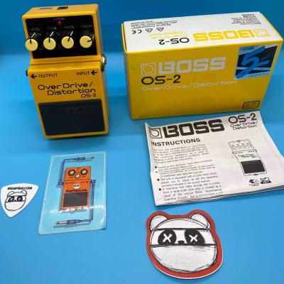Boss OS-2 Overdrive/Distortion w/Original Box   Fast Shipping!