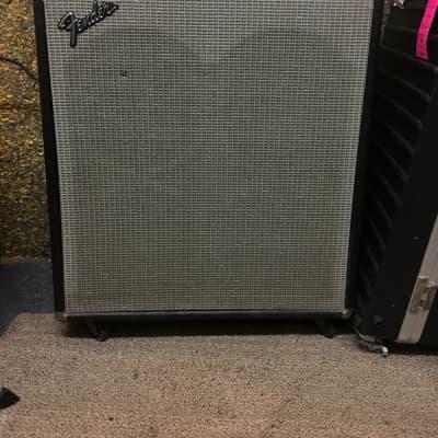 Fender Bassman Ten 50-Watt 4x10 Vintage Silverface Guitar Combo Amp