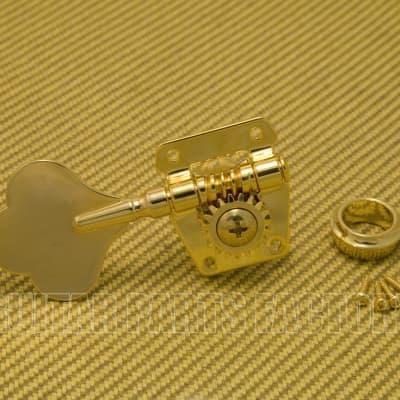Wilkinson JBL-200-GD-L (1) Gold Standard Cloverleaf Treble Side Bass Tuner (Lefty)