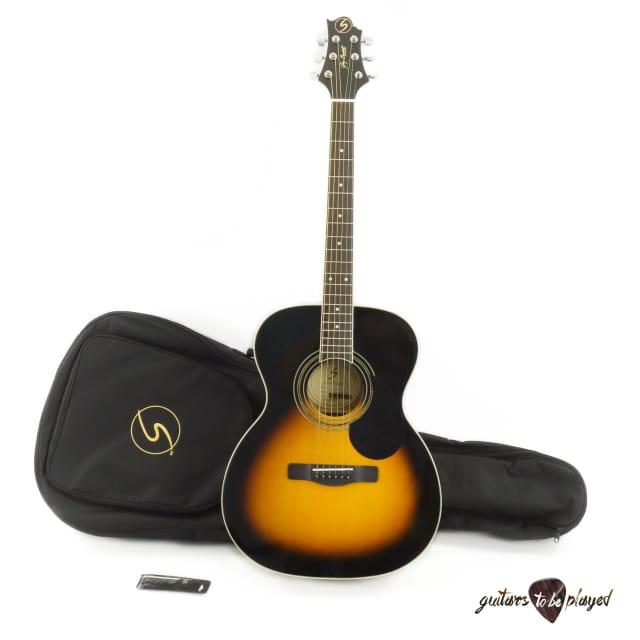 Samick GOM-100SPK Orchestra Body Acoustic Guitar w/ Gigbag - Vintage Sunburst image