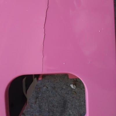 Korg Tiny Piano Pink Children's Digital Toy Piano damaged leg