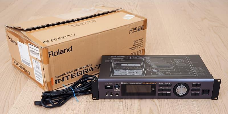 Roland Integra-7 SuperNATURAL Synthesizer Sound Module Near