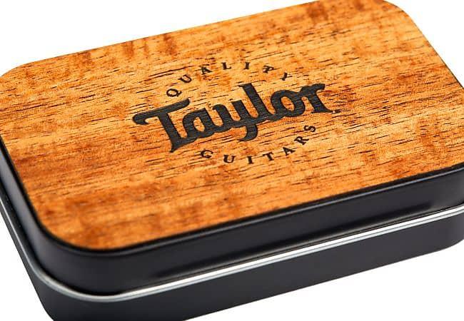Taylor DarkTone Series Pick Tin, Koa Top Collector's Edition