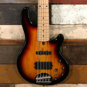 Lakland Skyline 55-02 3-Tone Sunburst Maple Neck