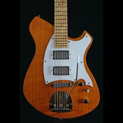Malinoski HiTop #372 New Luthier Built Hollowbody Silver Foils Tremolo Just Lovely for sale