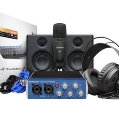 PreSonus Audiobox 96 Ultimate Recording Bundle
